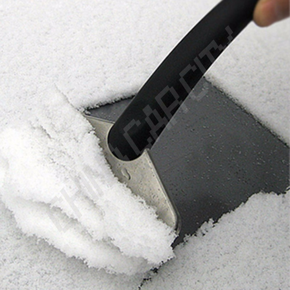 18*11cm New Winter useful mini car scraper shovel ice scrapers stainless cleaning tools Snow brush Broom Removal for Vehicle B08