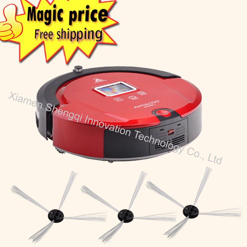 Multifunctional Automatic Recharge Schedule Intelligent Cleaning Robot Vacuum Cleaner herramientas(China (Mainland))