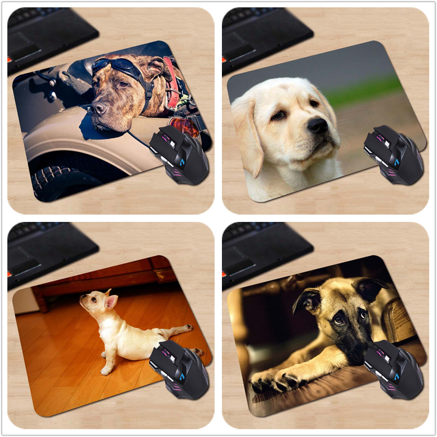 250x290x2mm Customized Mouse Pad American Staffordshire Terrier Funny Cute Dog Computer Notebook Rectangle Rubber Mouse Mat Pad(China (Mainland))