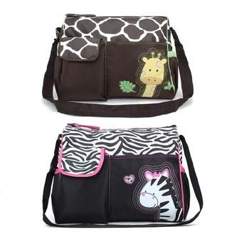 Зебра и жираф детские пеленки сумки для мамы бренд детские путешествия сумки Bebe ...