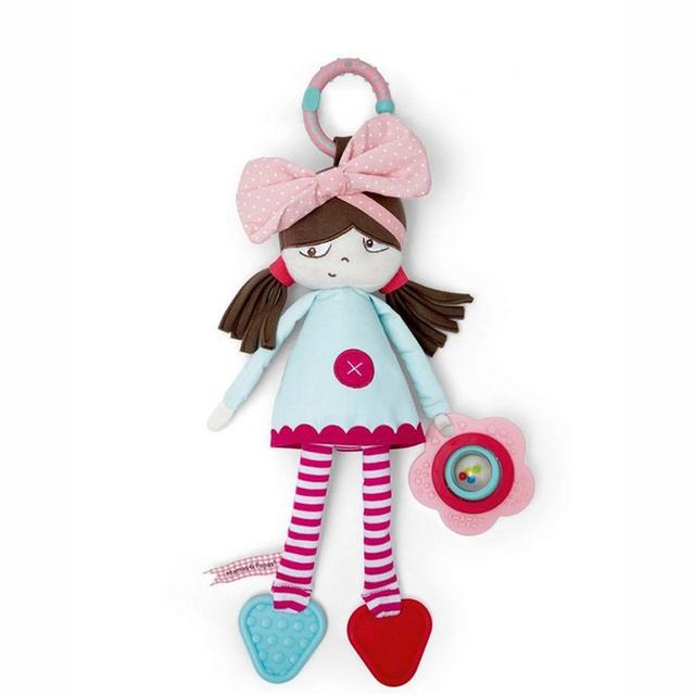 Детские погремушки мобильные мамы папы коляска детские прорезыватель игрушки для новорожденных малышей игрушки детские плюшевые игрушки погремушки Brinquedo Bebe WJ267