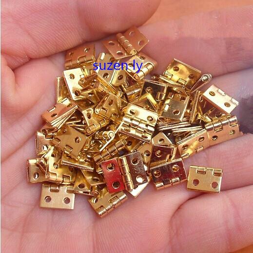 Дверные петли OEM 50pcs/lot 8 * 10 4 W8*L10*T0.5MM