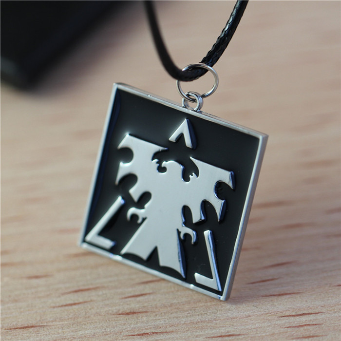 New Design StarCraft Necklace Pendants Wings Of Liberty Terran Necklace Cartoon Movie Necklace Fashion Jewelry For Men(China (Mainland))
