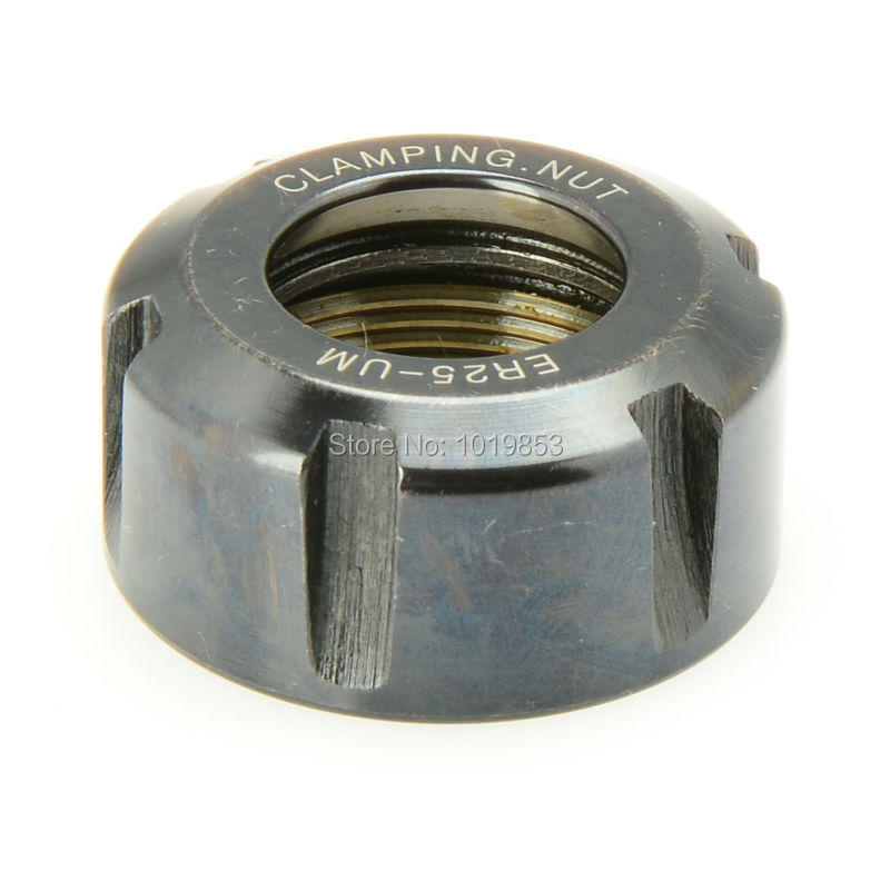 ER25 UM type clamping nuts for ER collet tool holder chuck CNC milling machine cutting tools