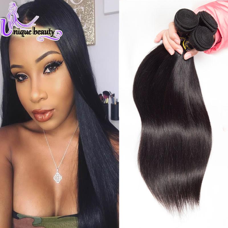 Gaungzhou New Star Hair 6A Brazilian Virgin Hair 4 Bundles Straight Human Virgin Brazilian Hair Straight  Human Hair Extension<br><br>Aliexpress
