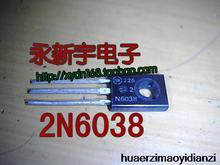 10 ШТ. 2n6038 к-126 новых товаров для дома.(China (Mainland))