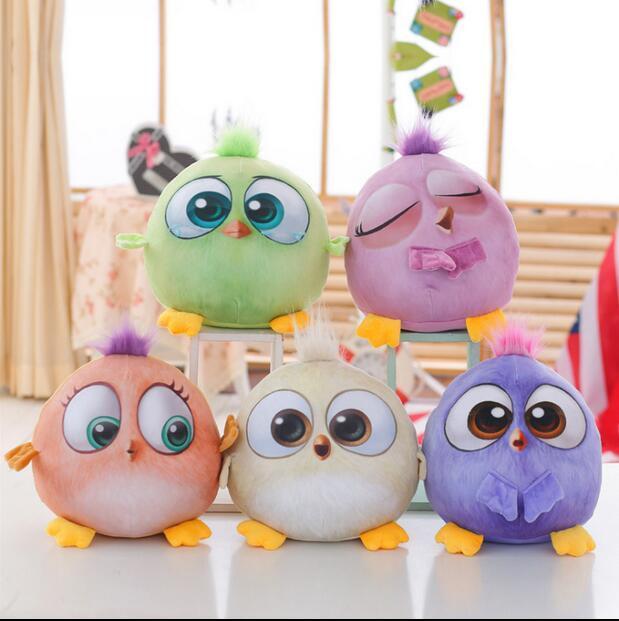 1 ШТ. 18 см Новый Творческий 3D Мультфильм Прекрасный Животных Птиц, Чучела Плюшевые Игрушки Куклы Для детей подарочные