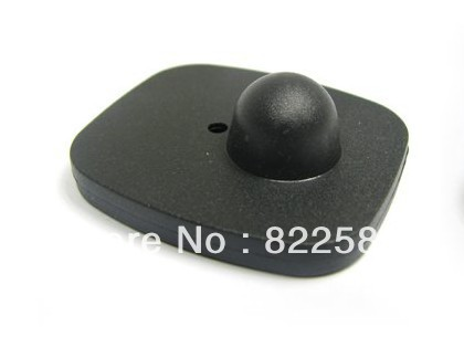 eas rf hard tag,security tag mini square clothes tag rf label 8.2mhz 46*42mm(China (Mainland))