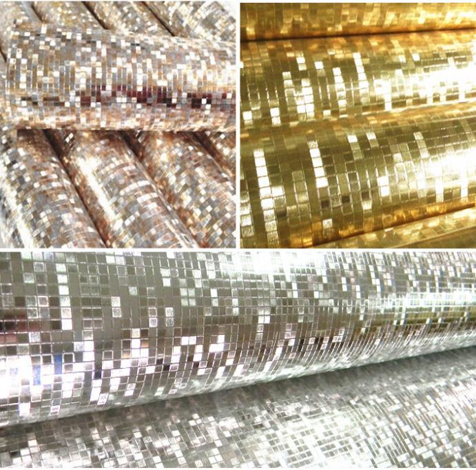 luxus glitter mosaik hintergrund hintergrund wand goldfolie tapete silber decke. Black Bedroom Furniture Sets. Home Design Ideas