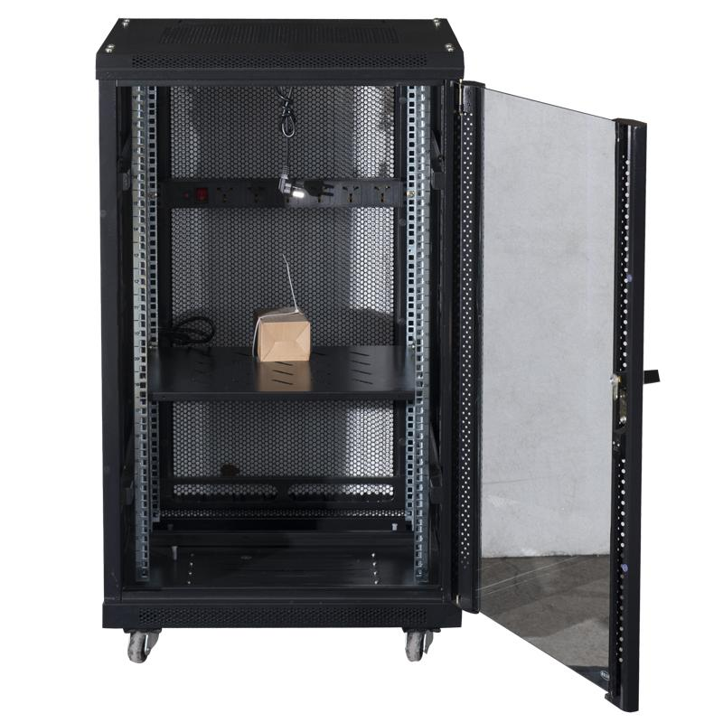 network cabinet cabinet 1 2 m 1 m 2 m 18u server. Black Bedroom Furniture Sets. Home Design Ideas