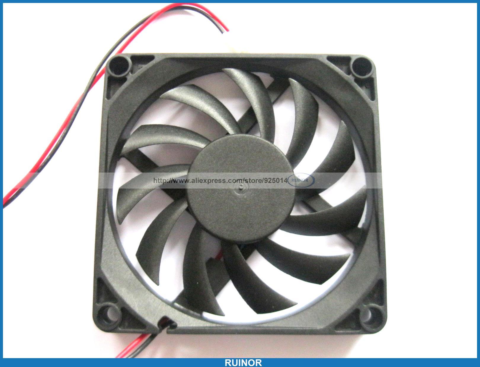10 x бесщеточный вентилятор охлаждения 11 клинок 12 В 8010 s 2 провод