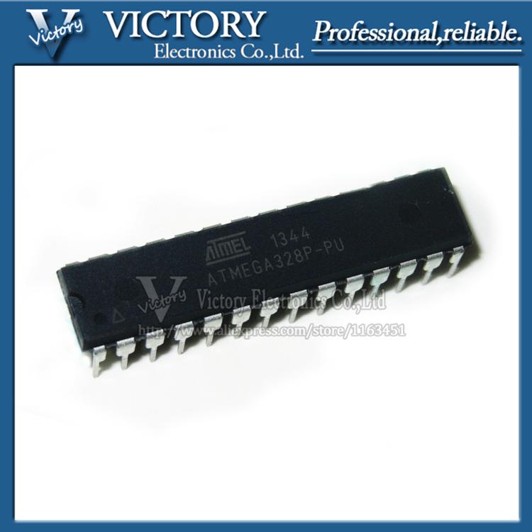 Free shipping 1PCS ATMEGA328P-PU DIP28 ATMEGA328-PU DIP ATMEGA328P original and new high quality IC