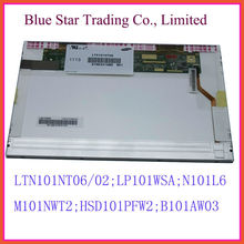 LCD Matrix B101AW03 10.1 LAPTOP LCD LED SCREEN For Samsung N148 N145 N220 NF110 N150 LTN101NT06 lp101wsa n101l6-L01 LTN101nt02(China (Mainland))