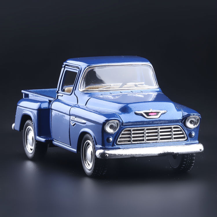 High Simulation Exquisite Collection Toys KiNSMART Car Styling 1955 Chevrolet Stepside Pickup 1:32 Alloy Car Model Best Gifts(China (Mainland))