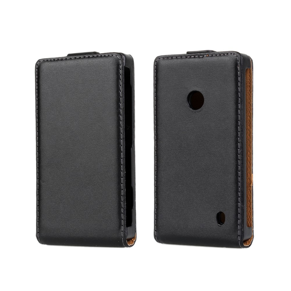 Genuine Leather Case For Nokia Lumia 520 Flip Cover Sleeve for lumia 520 PY(China (Mainland))