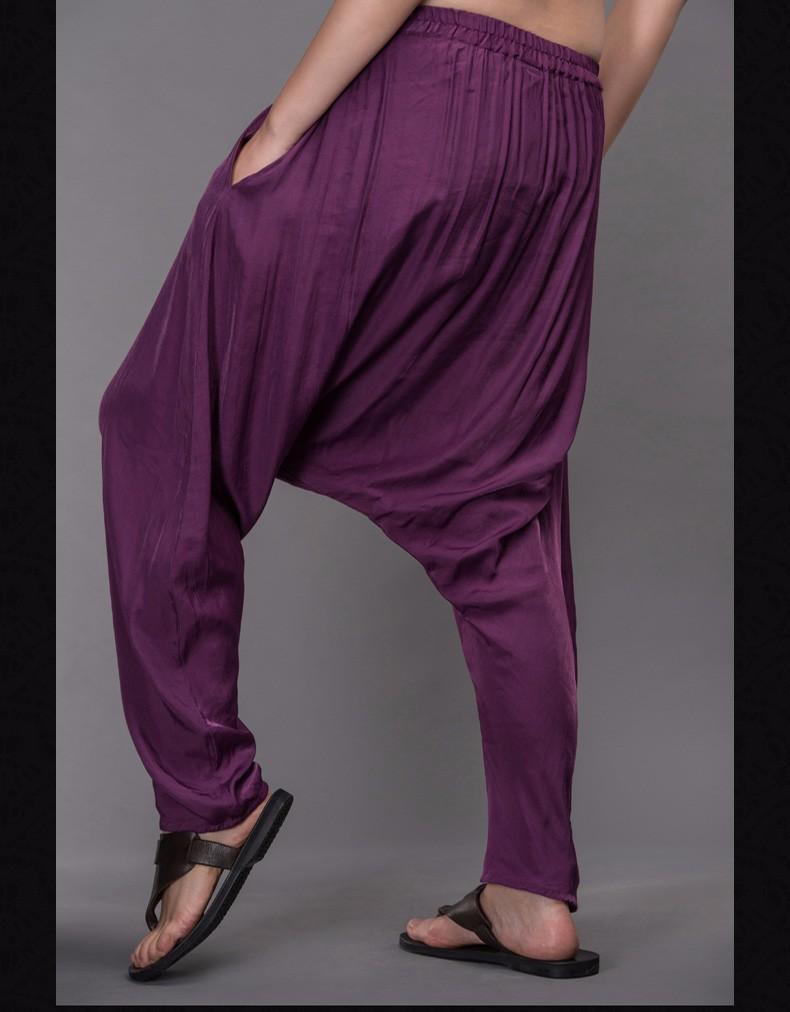 Outline Woman Harem Pants Loose Vintage Multicolor Trousers Original Brand Elastic Women Plus Size Women Casual Pants L153K001
