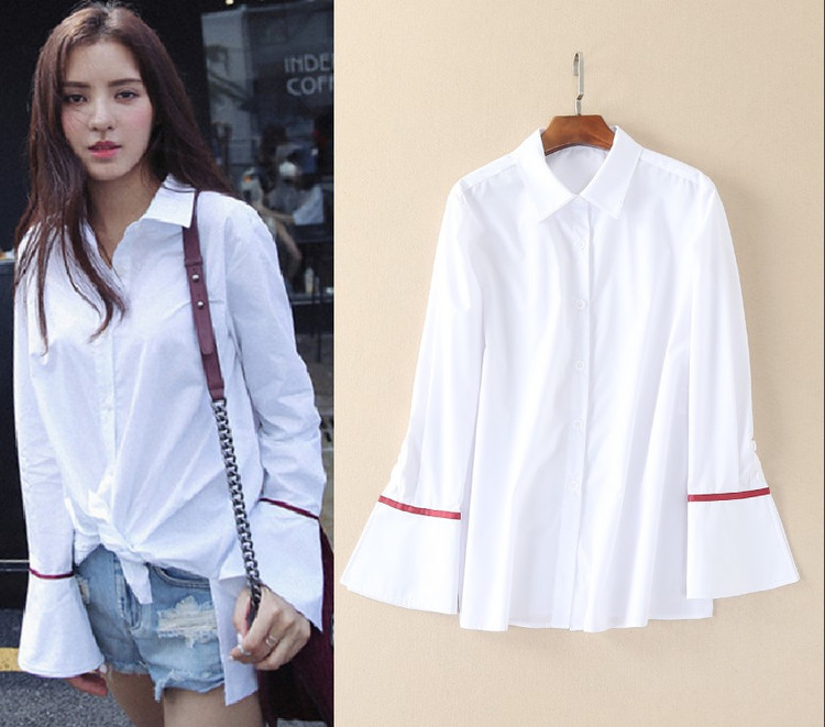 High Quality Ladies White Cotton Shirt-Buy Cheap Ladies White ...