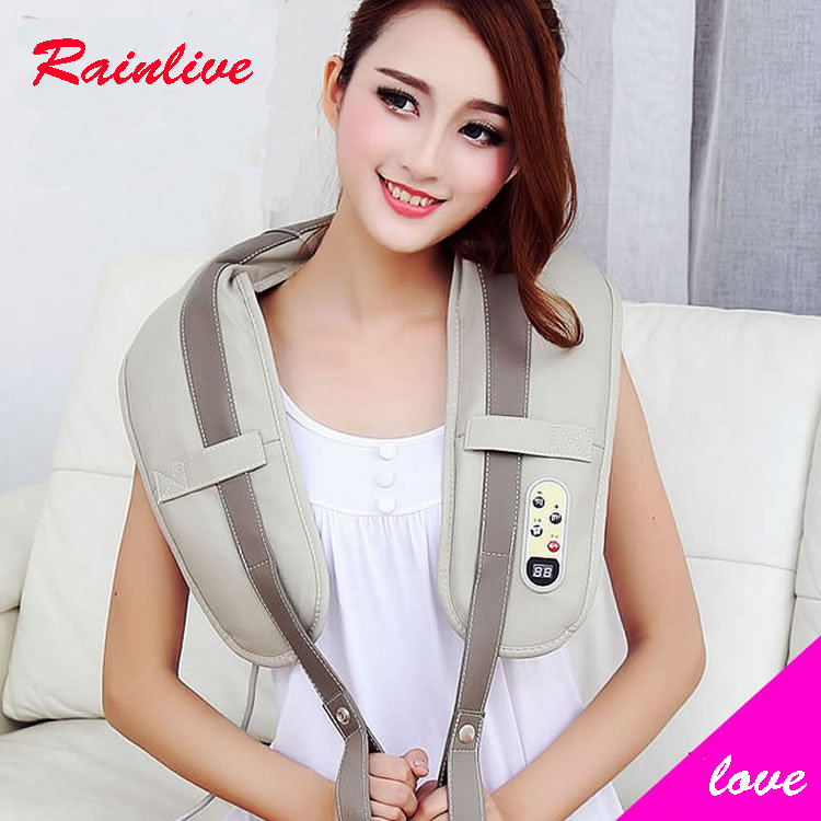 Massage shawls Cervical vertebra massager neck shoulder waist knock back massage device Shawl massage instrument(China (Mainland))