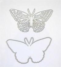 Diy бабочка записки бабочки высекальный пресс бабочка выбивая файл версия резки металла умирают 3936