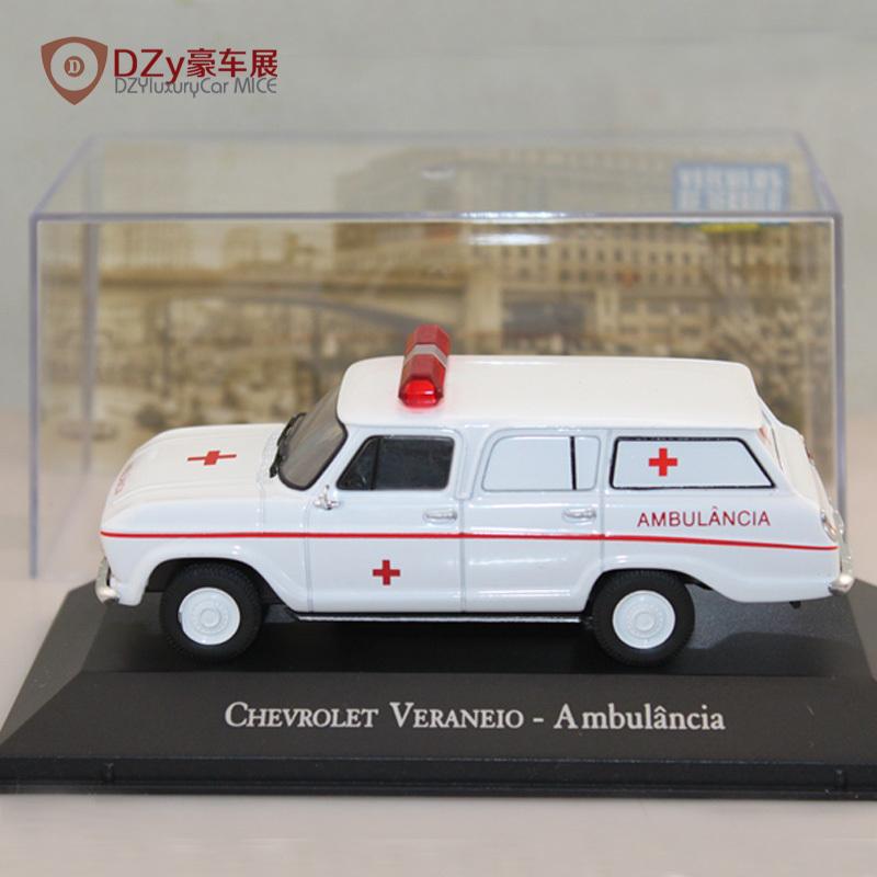 1:43 IXO Chevrolet Veraneio Ambulance model car  I006