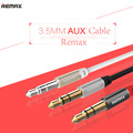Remax 3 5mm AUX Cable Male to Male Plug Jack for iPhone iPad iPod Mobile Headphone