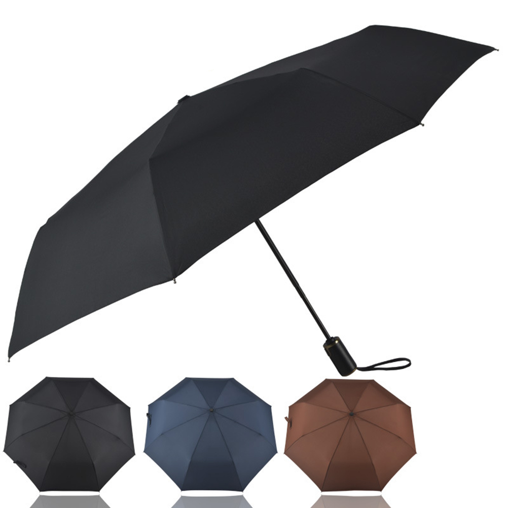 Automatic Travel Umbrella Teflon 210T Canopy 8 Rib Wind Resistant Frame For Men and Women Automatic Open/Close(China (Mainland))