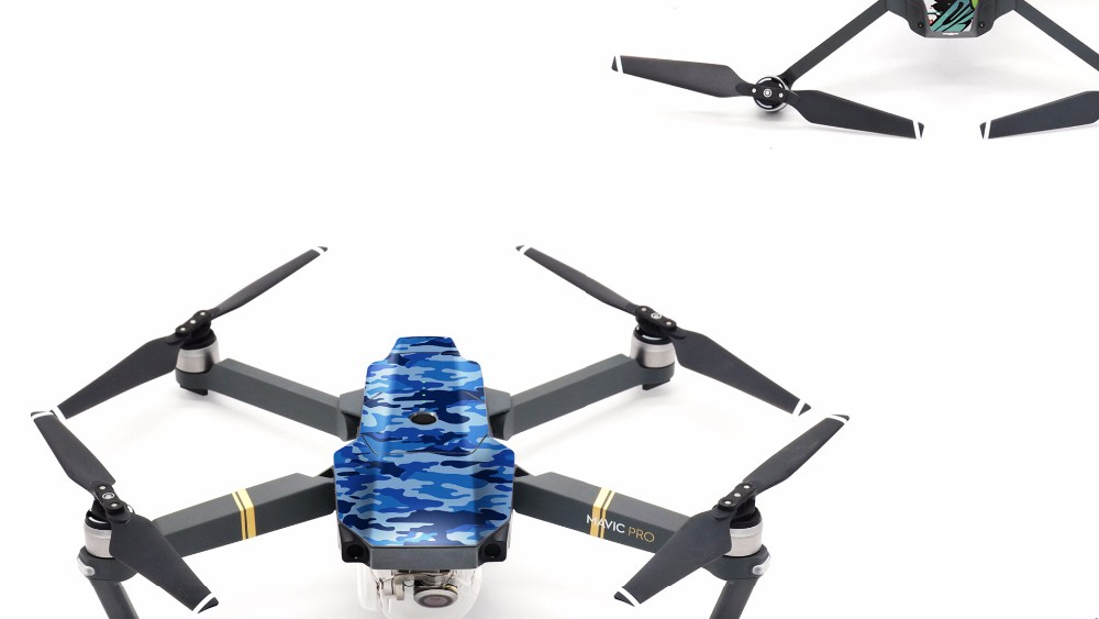 NEW PGY DJI Mavic pro Accessories stickers skin 3M waterproof PVC decals 4K HD Camera RC Quadcopter  Drone Parts