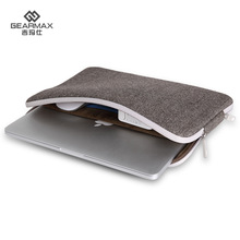 Buy Newest Unisex Wool Felt Quakeproof Laptop Bag 11 13 15inch Business Solid Laptop Sleeve Macbook Air Pro 13 Free for $23.35 in AliExpress store