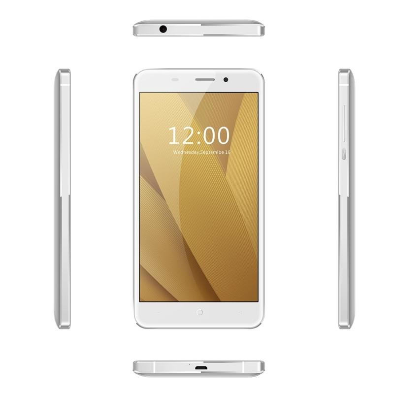 Original Leagoo M5 Plus 4G Mobile Phone RAM 2GB ROM 16GB MT6737 Quad Core 5.5 inch 2500mAh Android 6.0 Fingerprint ID Smartphone