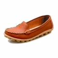 2017 NEW Shoes Woman Loafers Genuine Leather Women Shoe Flats Colors Footwear Loafers Slip On Women