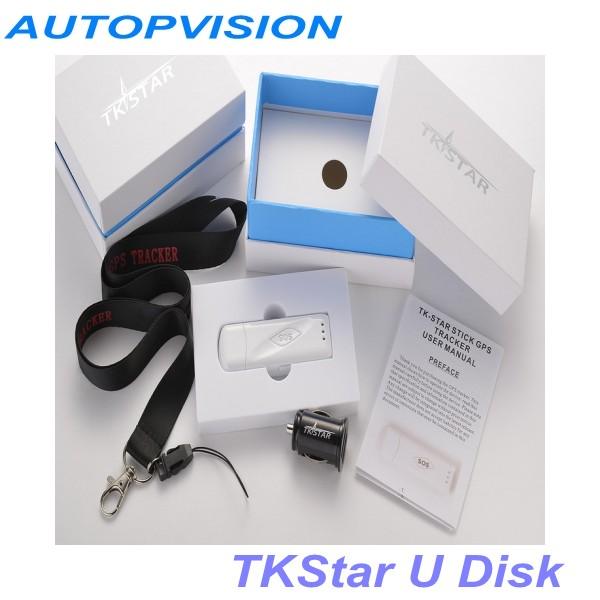 New tkstar USB PORT software gps tracker tkstar stick mini personal tracker(China (Mainland))