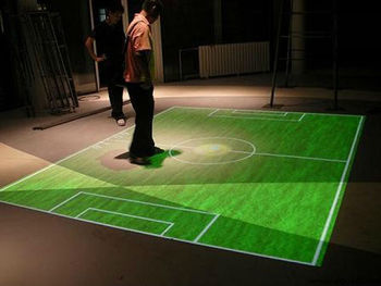 New effects Of Interactive Floor Projection System Software