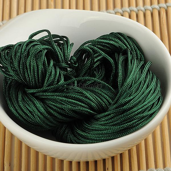1 meters Waxed Thread Cotton Cord String Strap Wholesale Necklace Rope Bead Fit shamballa Bracelet EQB167(China (Mainland))