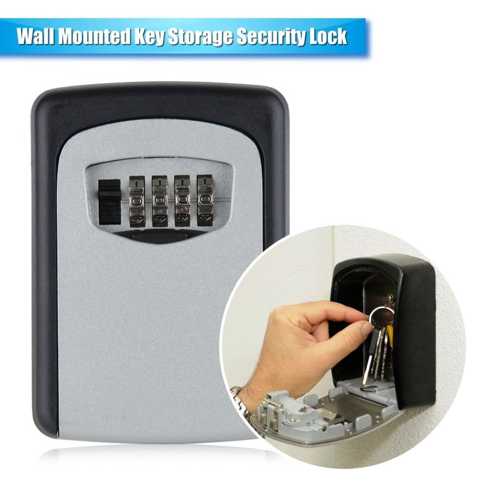 Digital Wall Mount Key Storage Box
