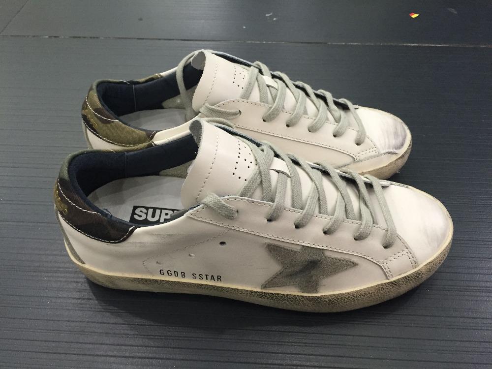 2016 Golden Goose GGDB Superstar Men Women Casual Shoes White Shoes Woman Genuine Leather Scarpe Da Donna Uomo Original