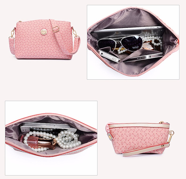 Trendy Composite Bag Geometric Pattern Elegant Luxury Women Designer Shoulder Bag Ladies Leisure/Office/Tour PU Crossbody Bag