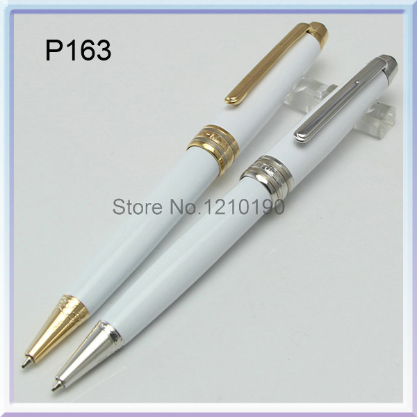 163 luxury pens silver carving texture mb ballpoint pen school office stationery pen gift<br><br>Aliexpress