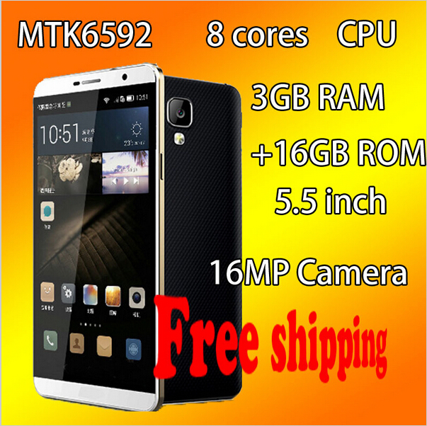 MIZO I9 Plus Intelligent mobile phone Octa Core MTK6592 telephone mobile phones 5.5 Inch 16.0MP Android 5.0 cellulare mobile(China (Mainland))