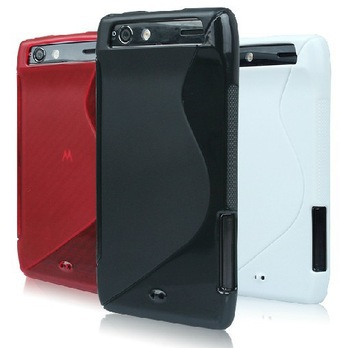Slim MAXX TPU Gel Cover Case Skin For Motorola DROID RAZR XT912 XT910 Moto(China (Mainland))