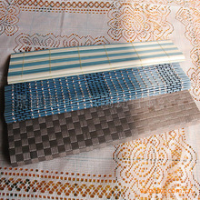 Home daily gifts bamboo mat Coffee pad placemat