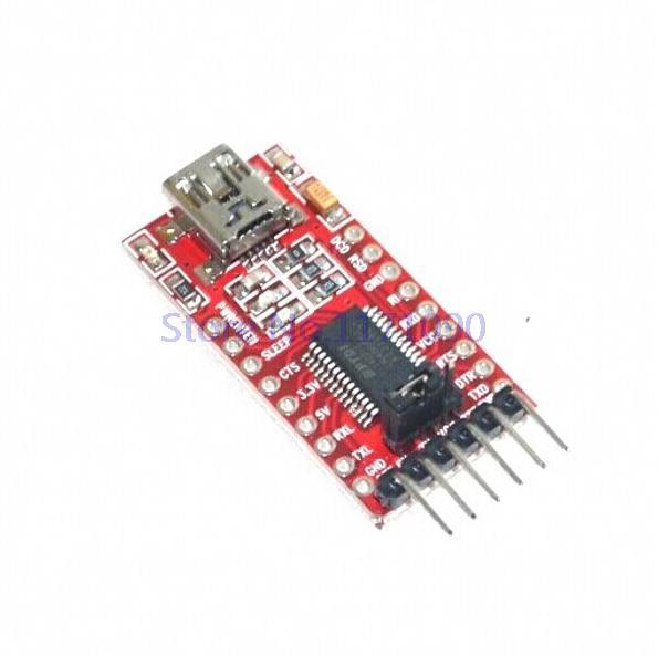 1pcs FT232RL FTDI USB 3.3V 5.5V to TTL Serial Adapter Module forArduino Mini Port(China (Mainland))