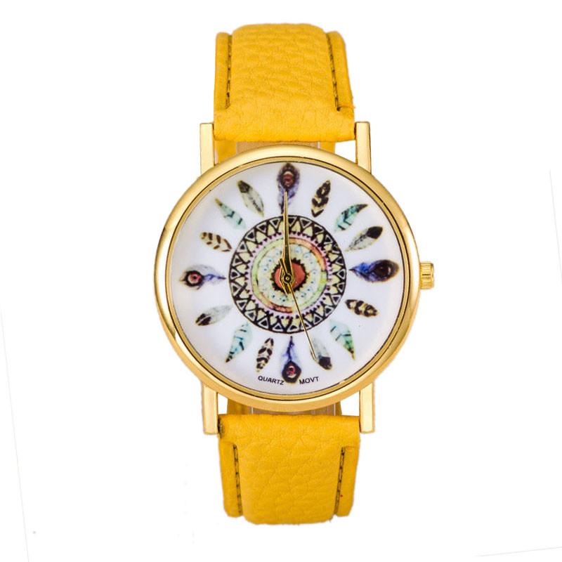 SmileOMG High Quality Women Watch New Design Polka Dot Dial Quartz Trend Leather Strap Bracelet Analog Muticolor Watch ,Aug 6