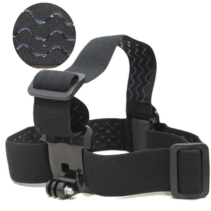 GoPro Accessories Harness Adjustable Elastic Headband Head Strap For G