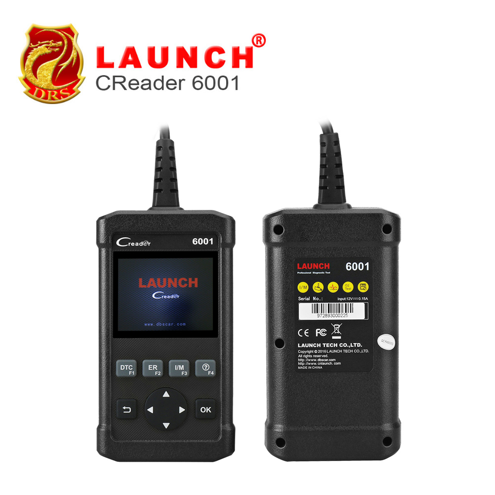 100% original Launch DIY Code Reader CReader 6001 Full OBDII OBD2 function Read&Clear DTCs the same function as AL619 6001(China (Mainland))