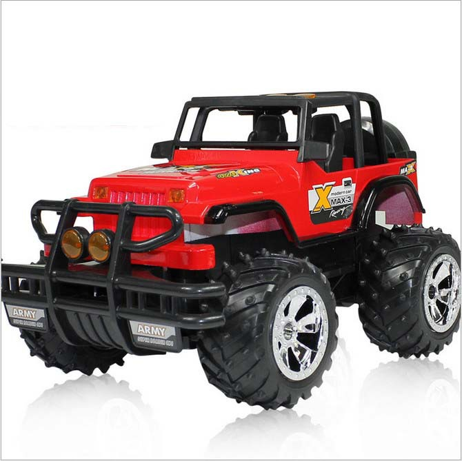 RC Car Electric Off Road 1:14 Battery Powered Controlled For A boy 4wd Land Remote Control Toy Bus(China (Mainland))