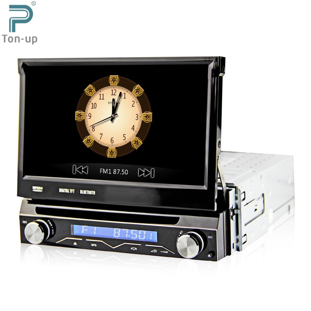"""7"""" 1 Din WCE Car DVD Player GPS Navigation Universal In-dash Detachable Front Panel Auto Radio Audio Stereo with TV Function(China (Mainland))"""