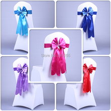 30PCS Wedding Bow Tie Chair Sash