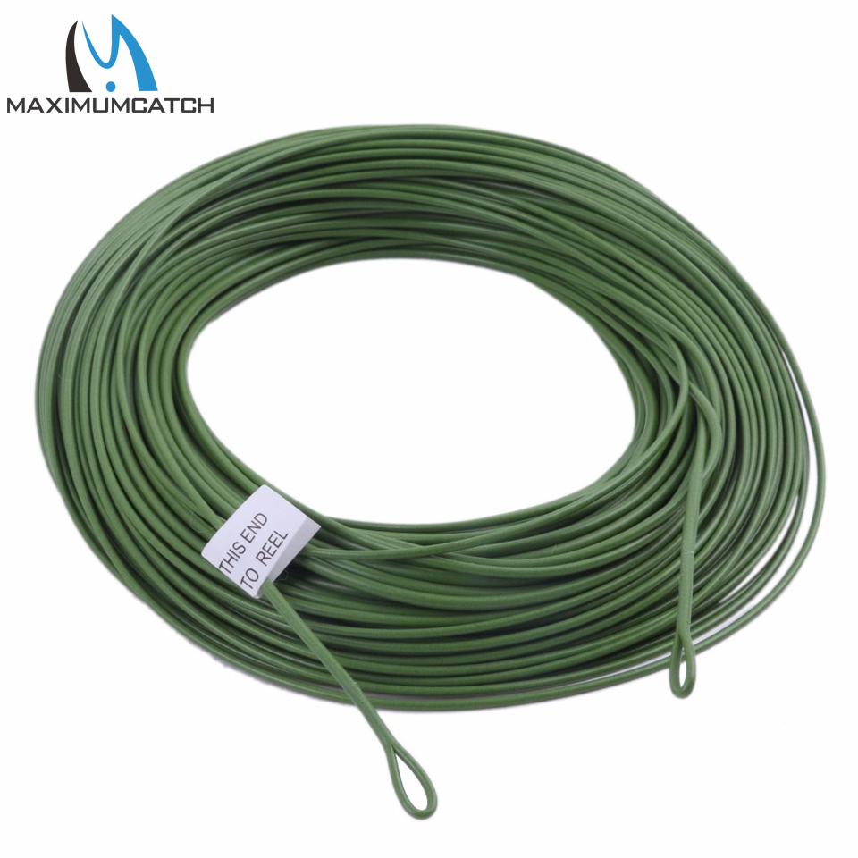 Buy maximumcatch 100ft weight forward for Where to buy fishing line