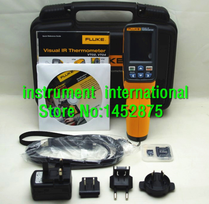 Brand New Fluke VT04 Visual IR Infrared Thermometer Temperature Meter Tester(China (Mainland))