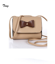 Japanese Top Popular girls sweet mini crossbody bags ladies leather satchel party clutches purse candy Colors Cute mobile bag